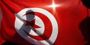 drapeau tunisien poing