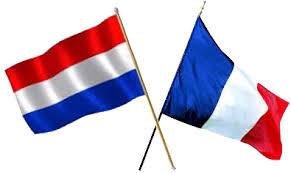 drapeaux français et hollandais