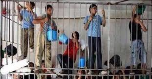Mettre des enfants en cage…