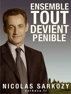 Présidentielles 2012 Sarkozy l'affiche mal