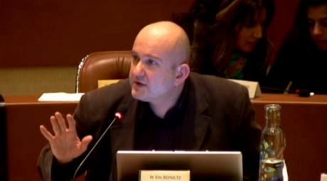 Deux interventions remarquables d'Eric Schultz au Conseil municipal de Strasbourg ce jour