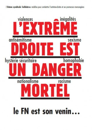 extreme droite danger solidaires