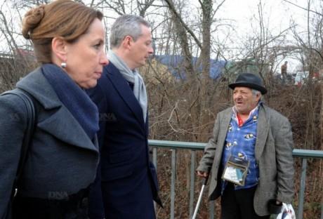 Fabienne Keller et les Roms