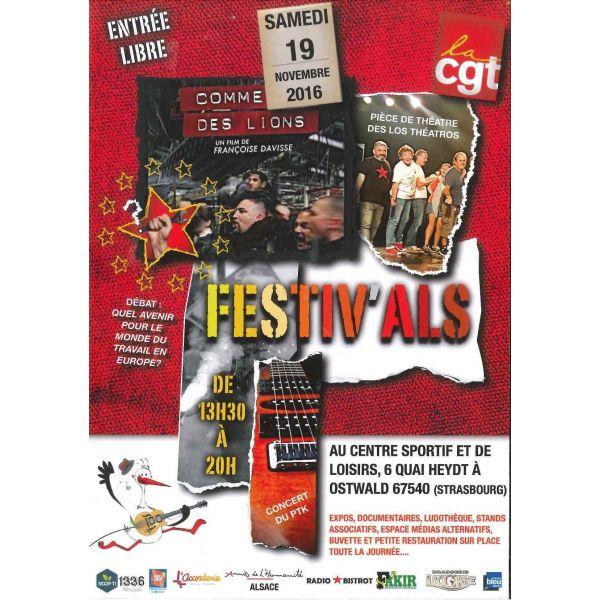 Festiv'Als, le 19 novembre à Ostwald