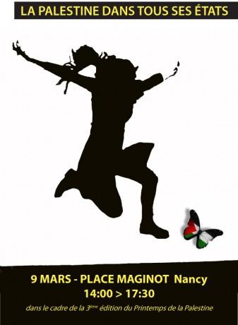 Festival du Printemps de la Palestine à Nancy du 9 au 23 mars