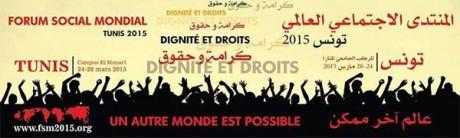 Forum Social Mondial en Tunisie, plus que jamais