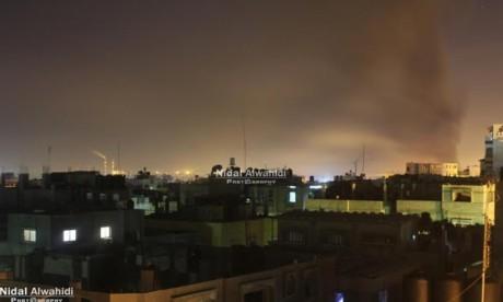 La bande de Gaza de nouveau frappée par des raids israéliens