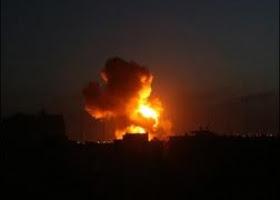 gaza bombardée encore
