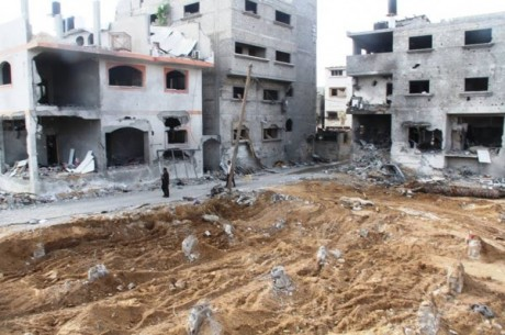 gaza destructions