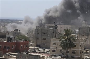 gaza reprise bombardements 8 opût 2014