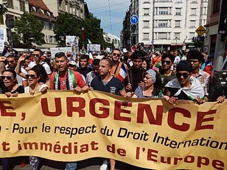 Gaza: manifestation à Paris mercredi 23 juillet à 18h30 Denfert-Invalides