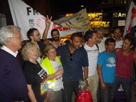 Le rassemblement pour les passagers du Dignité Al Karama dans les quotidiens régionaux d'Alsace