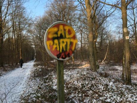 Mobilisation générale pour la forêt du Krittwald massacrée pour le GCO de Vinci