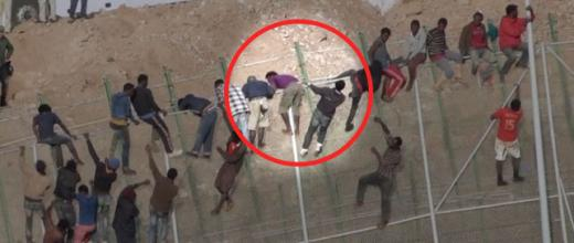 À Melilla, des migrants sous les matraques de la Garde civile espagnole