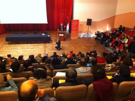 300 Palestiniens et Israéliens disent OUI à la lutte commune, NON à la normalisation