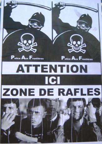 Témoignage d'un sans papiers arrêté lors de la rafle à Barbès (Paris)