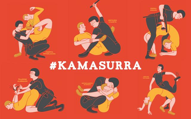 Une parodie du Kâmasûtra pour lutter contre les violences policières au Brésil