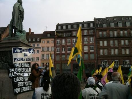 GRAND RASSEMBLEMENT DU PEUPLE KURDE DEVANT LE CONSEIL DE L'EUROPE