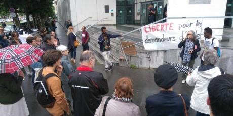 A Bordeaux, comme ailleurs: Liberté pour les demandeurs d'asile !