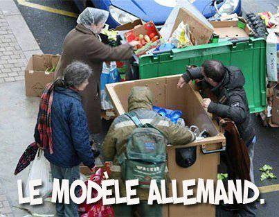 L'Allemagne compte dix fois plus de nouveaux pauvres que la France