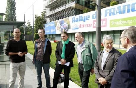 Contre le Rallye de France en Alsace et ailleurs