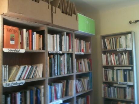 La Toute Petite Librairie du Secours Populaire Français à Strasbourg-Krimmeri