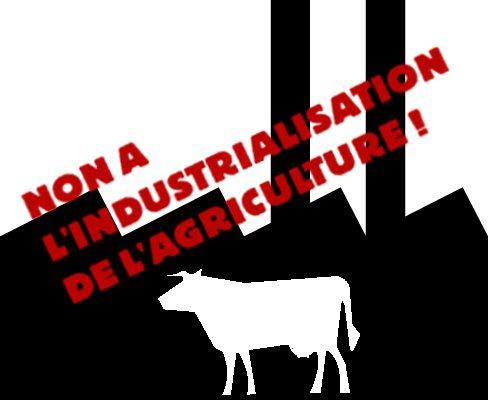 Carte de l'industrialisation de l'agriculture : Une dérive destructrice pour les paysans