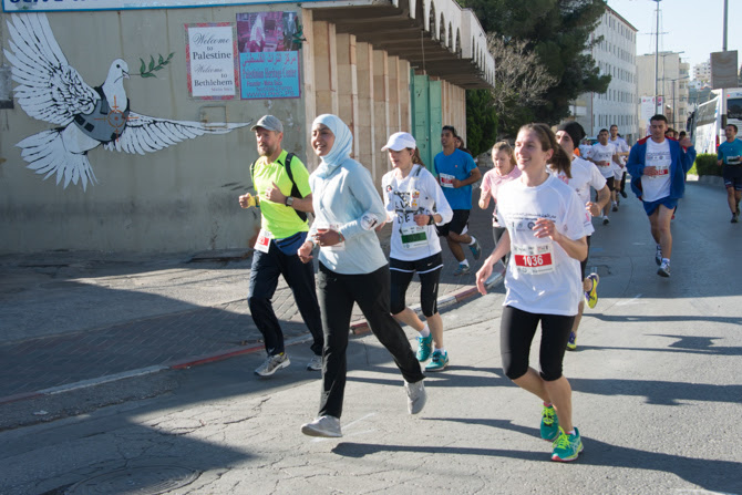 PHOTOS: Palestine's 'Right to Movement' Marathon