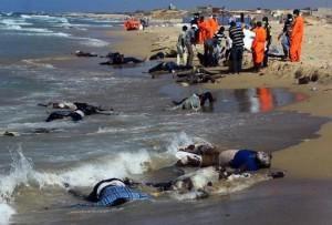 Le mur meurtrier de la Méditerranée : L'assassinat institutionnel de masse de l'Union européenne