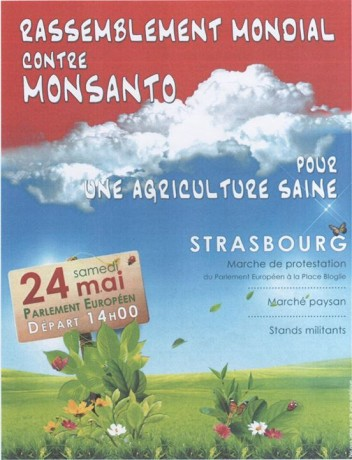 24 mai 2014: Rassemblement mondial contre Monsanto