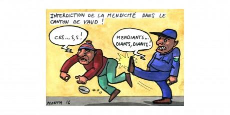 Le canton de Vaud interdit les pauvres