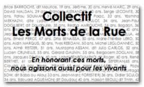Commémorations officielles à Strasbourg des MORTS DE LA RUE