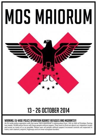Opération Mos Maiorum, jours 1 et 2