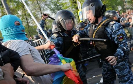 Lundi 18 fevrier, projection-debat d'un documentaire sur la lutte contre l'homophobie de l'Etat russe