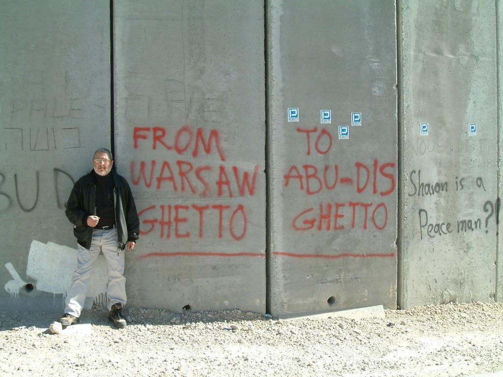 Dominique Grange chante pour la Palestine: Détruisons le mur!
