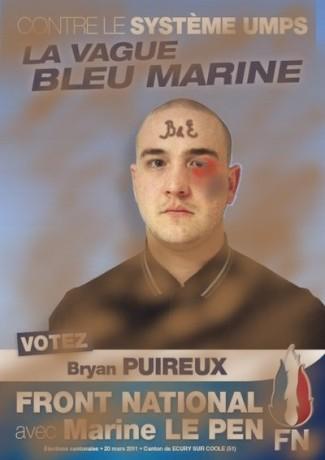 Marine le Pen fait le ménage