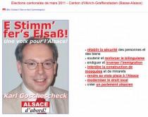 Un candidat néo-nazi aux cantonales en Alsace