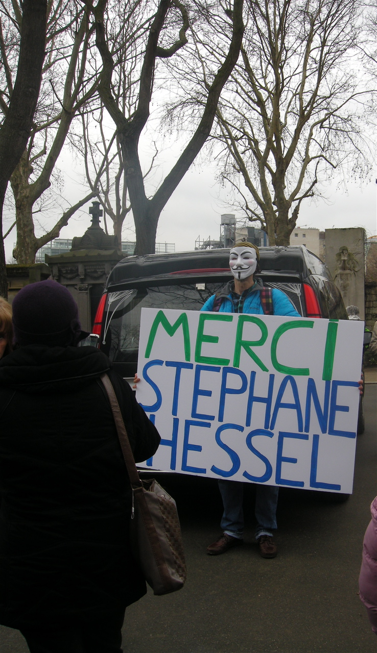 Stéphane Hessel for ever