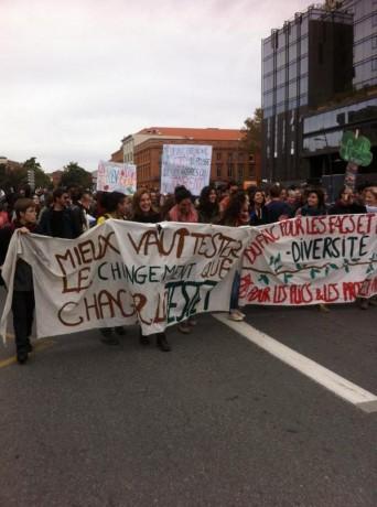 Toulouse le 8 novembre : le témoignage de Valentin, manifestant de 17 ans