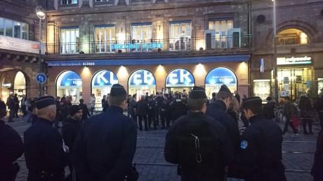 Sarkozy à Strasbourg : l'état d'urgence n'est pas compatible avec la liberté d'expression des militants communistes !