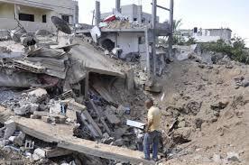 Khuza'a, ville meurtrie de la bande de Gaza