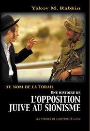 L'opposition juive au sionisme, par Yakov Rabkin