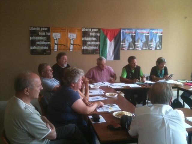 AFPS 68 Conférence de presse pour les prisonniers palestiniens