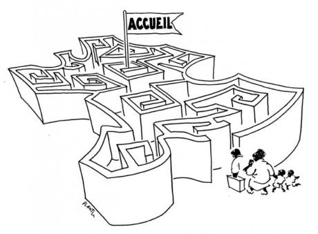 L'Etat se désengage de l'accueil et de l'hébergement des demandeurs d'asile, QUI EST UNE OBLIGATION LEGALE.