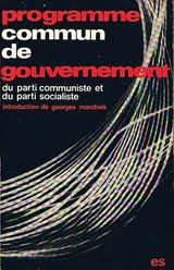 programme commun gouverneemnt