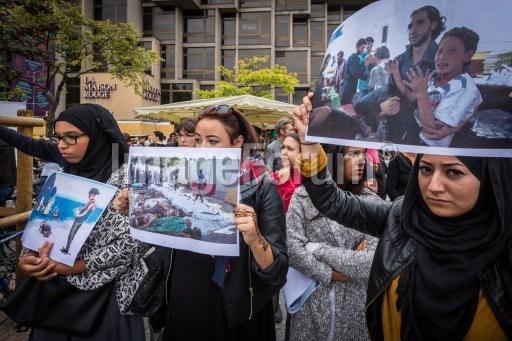 réfugiés solidarité strasbourg claude truong ngoc