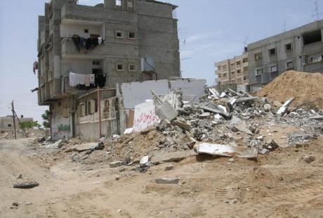 Traumatismes de guerre à Gaza