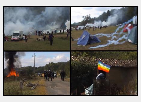 Témoignage terrifiant d'une Bisontine manifestant à la Zad du Testet (Tarn)