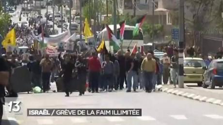 rtbf greve faim palestine f2c