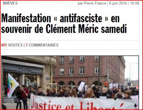 rue89strasbourg manif antifa J&L !!!